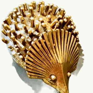 Hedgehog Brooch Pin Vintage